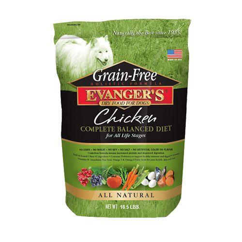 Evanger's Evanger's Grain Free Chicken Dry Dog Food