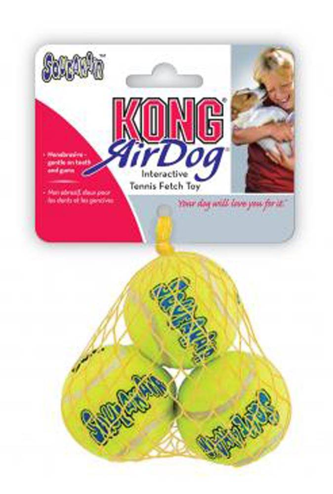 Kong Kong AirDog Squeakair Ball Dog Toy