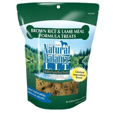 Natural Balance Natural Balance LIT Brown Rice & Lamb Dog Treats