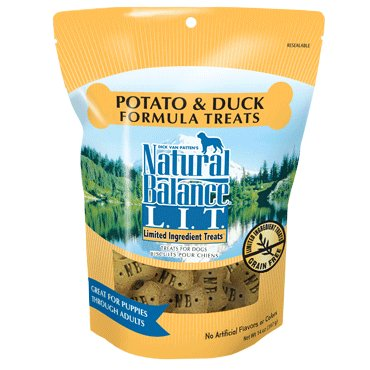 Natural Balance Natural Balance LIT Potato & Duck Dog Treats