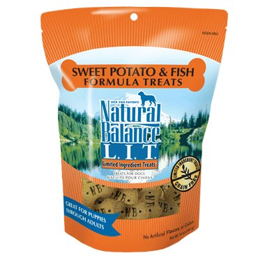 Natural Balance Natural Balance LIT Sweet Potato & Fish Dog Treats