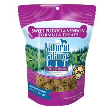 Natural Balance Natural Balance LIT Sweet Potato & Venison Dog Treats