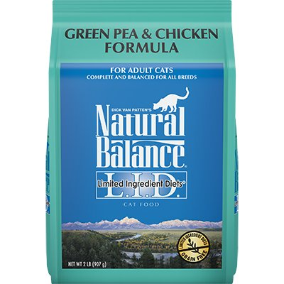 Natural Balance Natural Balance Green Pea & Chicken Dry Cat Food