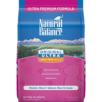 Natural Balance Natural Balance Ultra Chicken Meal & Salmon Meal Dry Cat Food