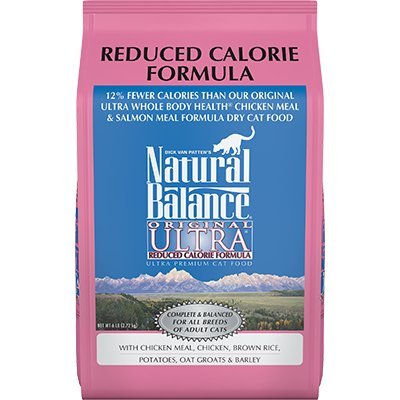 Natural Balance Natural Balance Ultra Reduced Calorie Dry Cat Food
