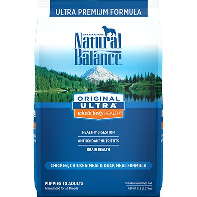 Natural Balance Natural Balance Ultra Chicken, Chicken Meal & Duck Meal Dry Dog Food