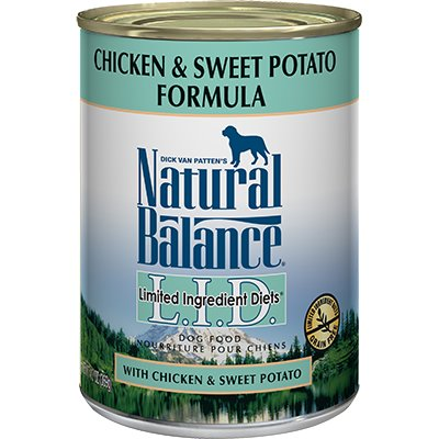 Natural Balance Natural Balance Limited Ingredient Diet Chicken & Sweet Potato Wet Dog Food