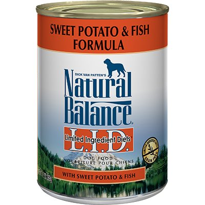 Natural Balance Natural Balance Limited Ingredient Diet Sweet Potato & Fish Wet Dog Food