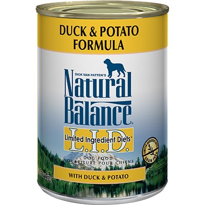 Natural Balance Natural Balance Limited Ingredient Diet Duck & Potato Wet Dog Food