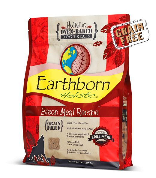 Earthborn Earthborn Bison Meal Biscuits Dog Treats