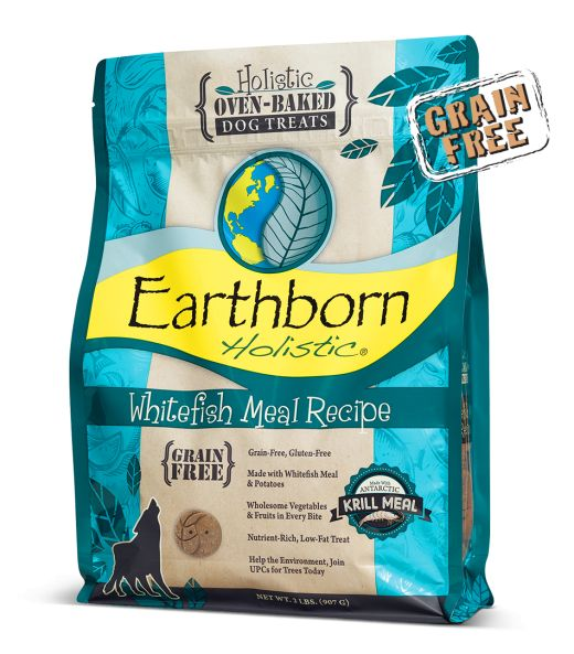 Earthborn Earthborn Whitefish Meal Biscuits Dog Treats