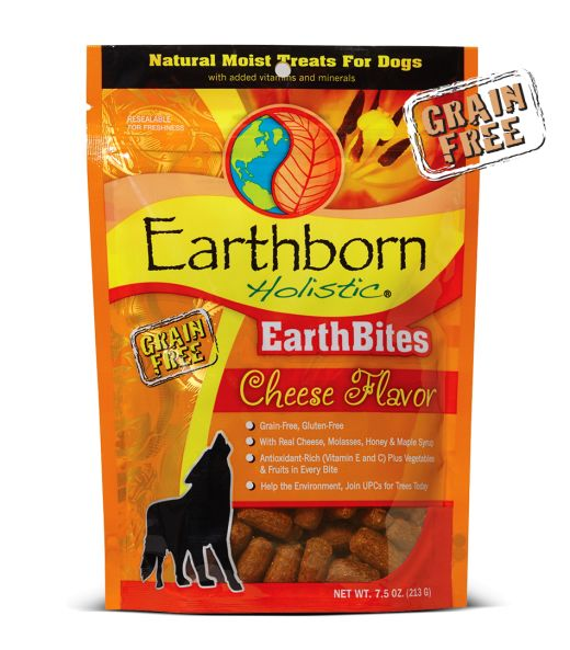 Earthborn EarthBites Cheese Dog Treats 7.5oz