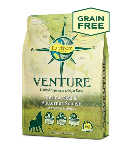Earthborn Earthborn Venture Turkey Meal & Butternut Squash Dry Dog Food