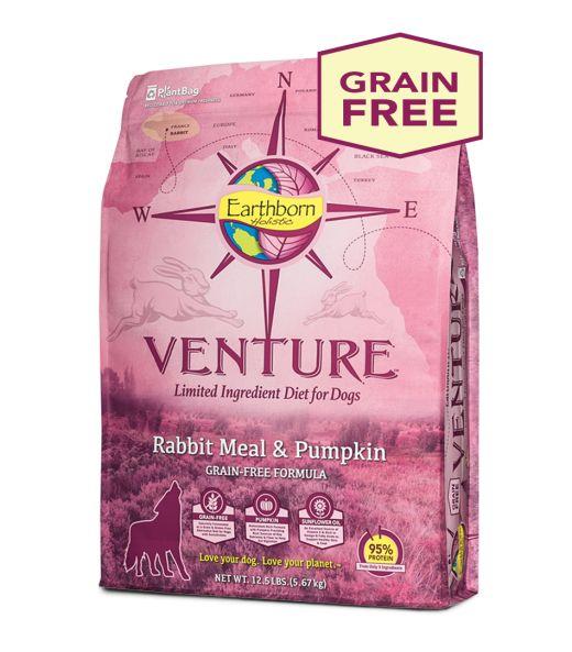 Earthborn Earthborn Venture Rabbit Meal & Pumpkin Dry Dog Food