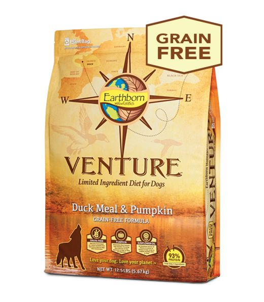 Earthborn Earthborn Venture Duck Meal & Pumpkin Dry Dog Food