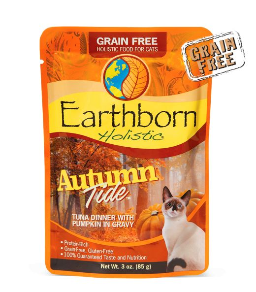 Earthborn Earthborn Autumn Tide Wet Cat Food Pouch 3oz