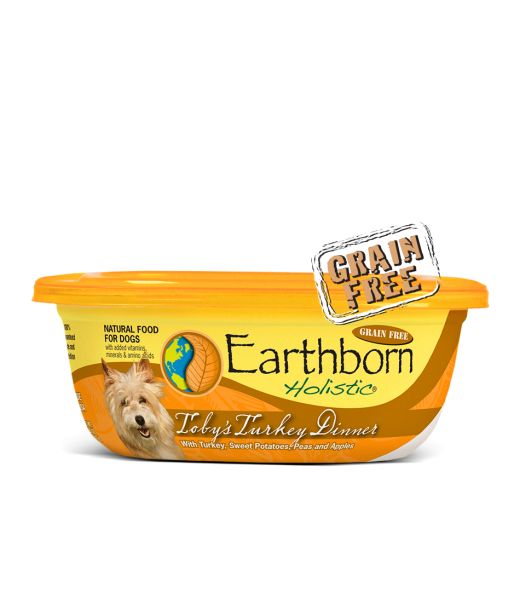 Earthborn Earthborn Toby's Turkey Dinner in Gravy Wet Dog Food 8oz