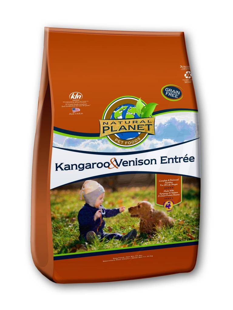 NutriSource Natural Planet Kangaroo & Venison Dry Dog Food