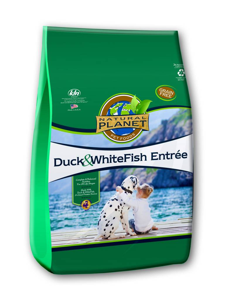 NutriSource Natural Planet Duck & Whitefish Dry Dog Food