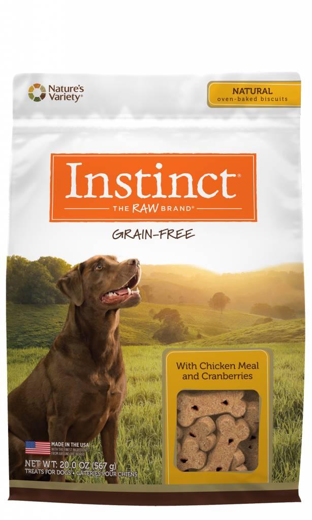 Nature's Variety Nature's Variety Instinct Chicken Biscuits Dog Treats