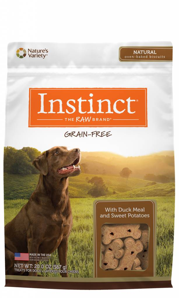 Nature's Variety Nature's Variety Instinct Duck Biscuits Dog Treats