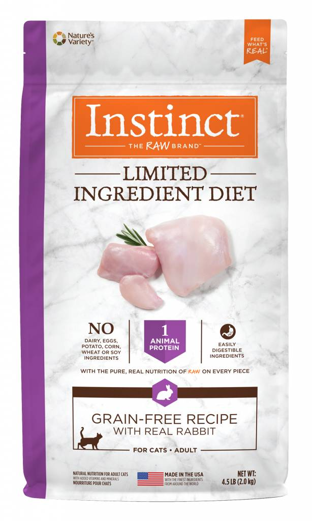 Instinct Instinct Limited Ingredient Diet Grain Free Rabbit Dry Cat Food