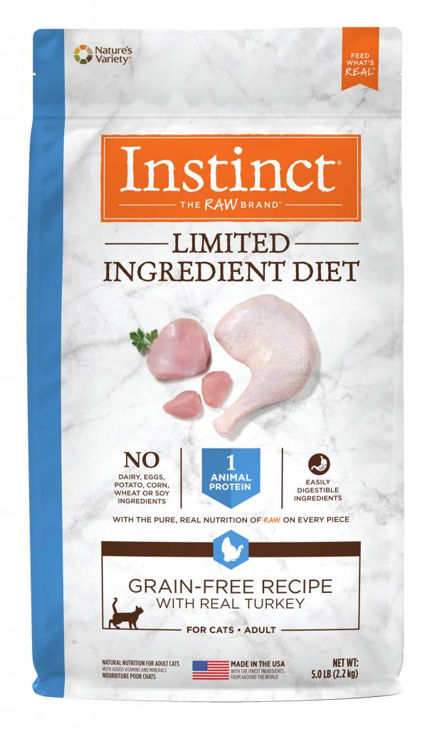 Instinct Instinct Limited Ingredient Diet Grain Free Turkey Dry Cat Food