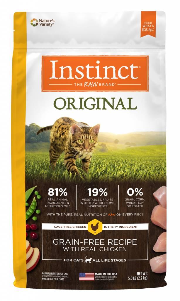 Nature's Variety Nature's Variety Instinct Original Chicken Dry Cat Food