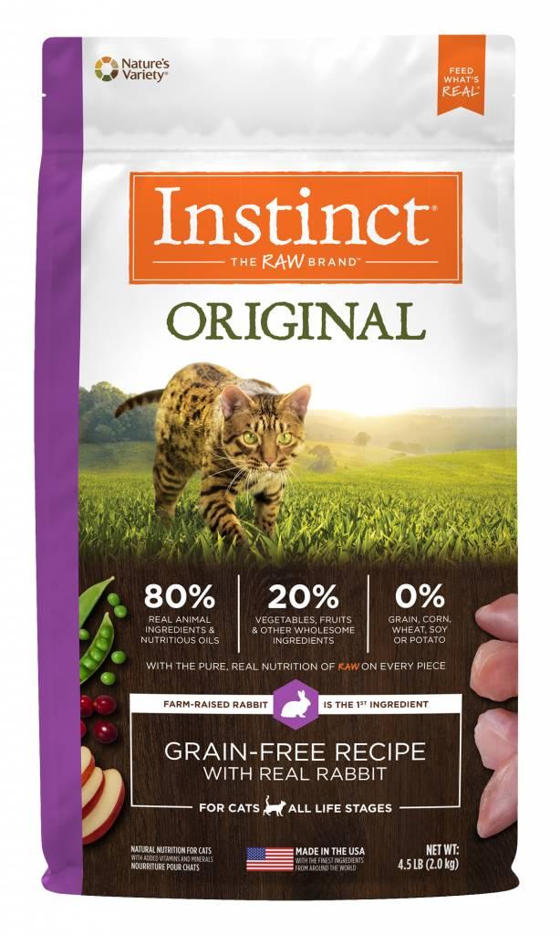 Instinct Instinct Original Rabbit Dry Cat Food