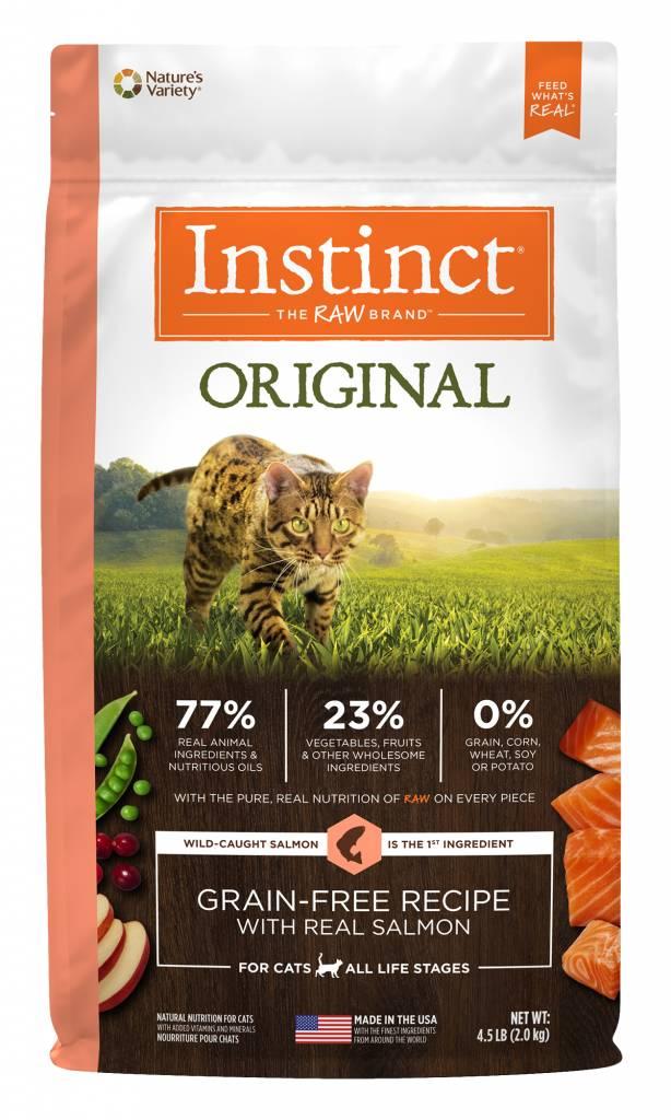 Nature's Variety Nature's Variety Instinct Original Salmon Dry Cat Food
