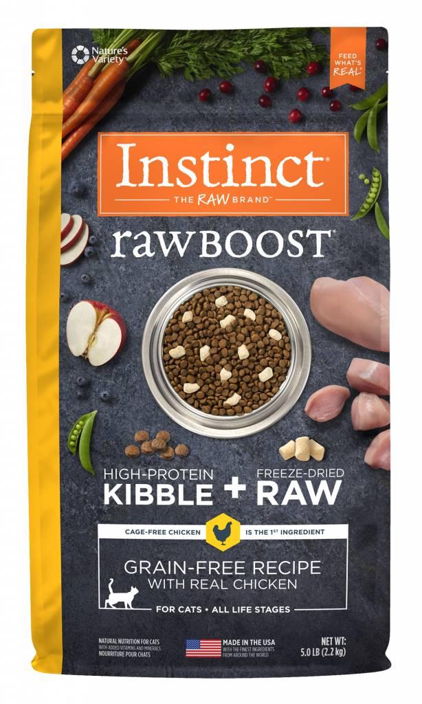 Nature's Variety Nature's Variety Instinct Raw Boost Chicken Dry Cat Food