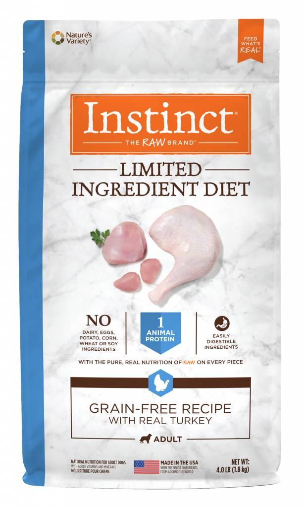 Instinct Instinct Limited Ingredient Diet Grain Free Turkey Dry Dog Food
