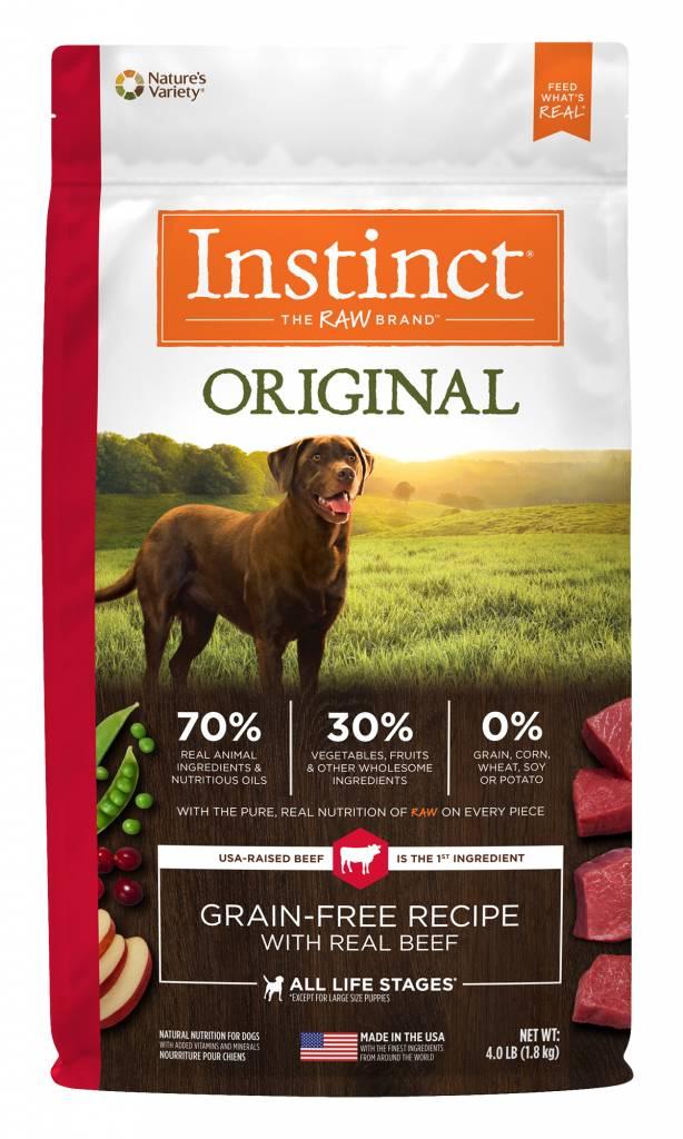 Instinct Original Grain Free Beef Dry Dog Food