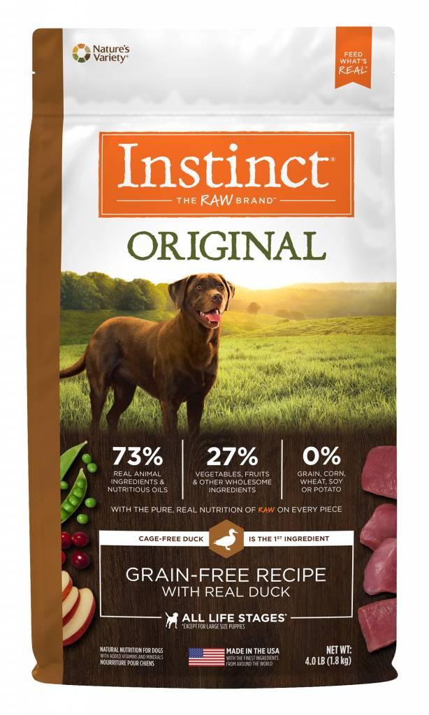 Instinct Original Grain Free Duck Dry Dog Food