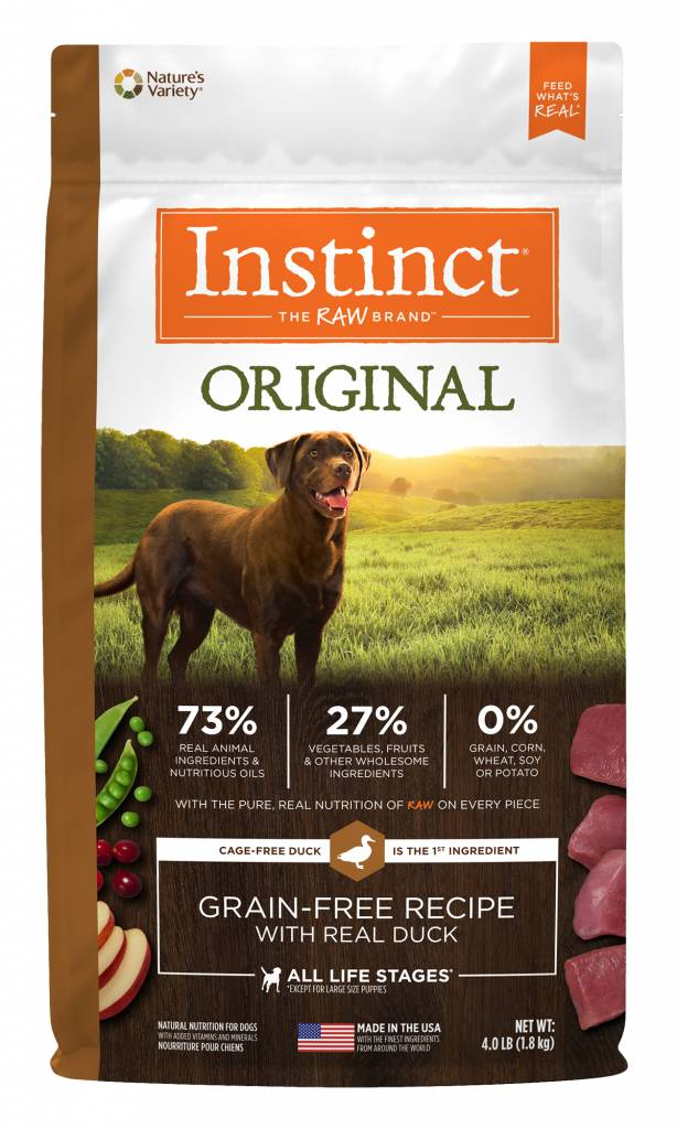 Nature's Variety Nature's Variety Instinct Original Duck Dry Dog Food