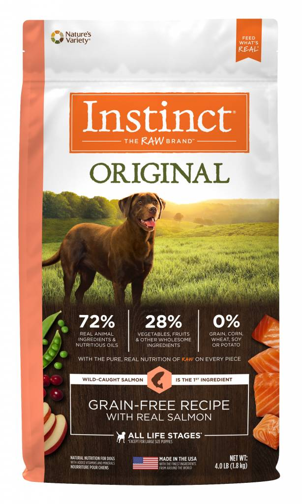 Nature's Variety Nature's Variety Instinct Original Salmon Dry Dog Food