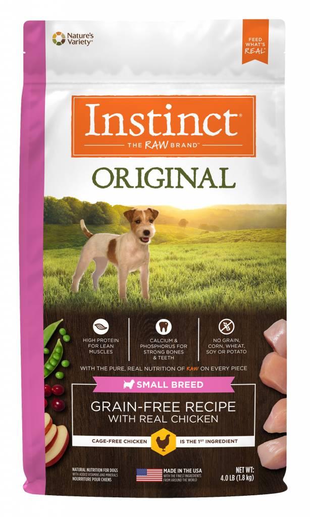Instinct Original Grain Free Small Breed Chicken Dry Dog Food