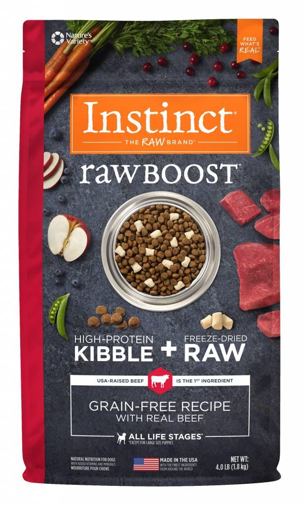 Instinct Instinct Raw Boost Grain Free Beef Dry Dog Food