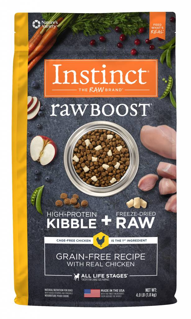 Instinct Raw Boost Grain Free Chicken Dry Dog Food