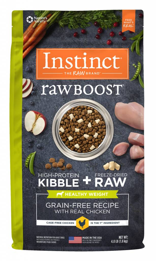 Instinct Instinct Raw Boost Grain Free Healthy Weight Chicken Dry Dog Food