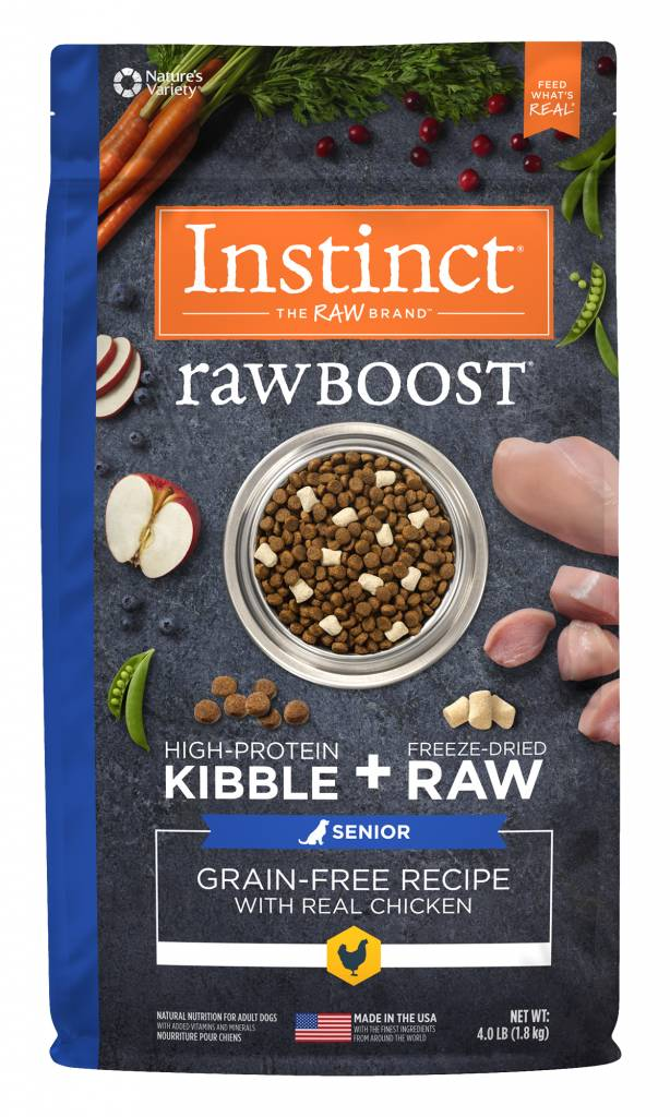 Instinct Instinct Raw Boost Grain Free Senior Chicken Dry Dog Food