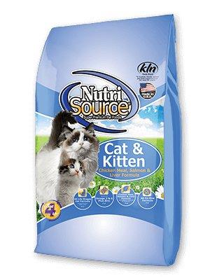 NutriSource NutriSource Chicken, Salmon & Liver Dry Cat Food