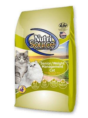 NutriSource NutriSource Senior/Weight Management Dry Cat Food