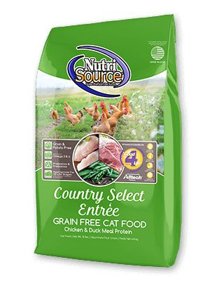 NutriSource NutriSource Grain Free Country Select Chicken & Duck Dry Cat Food