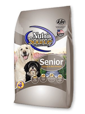 NutriSource NutriSource Senior Chicken & Rice Dry Dog Food