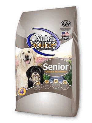NutriSource NutriSource Senior Chicken & Rice Dry Dog Food