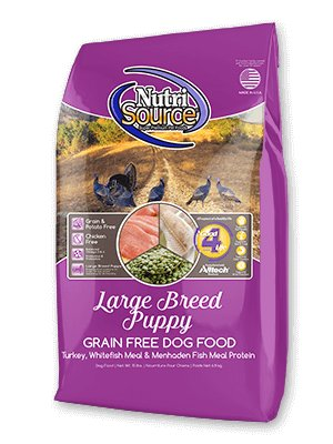 NutriSource NutriSource Grain Free Large Breed Puppy Turkey & Whitefish Dry Dog Food