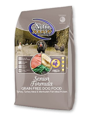 NutriSource NutriSource Grain Free Senior Dry Dog Food