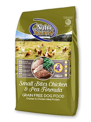 NutriSource NutriSource Grain Free Small Bites Chicken & Pea Dry Dog Food