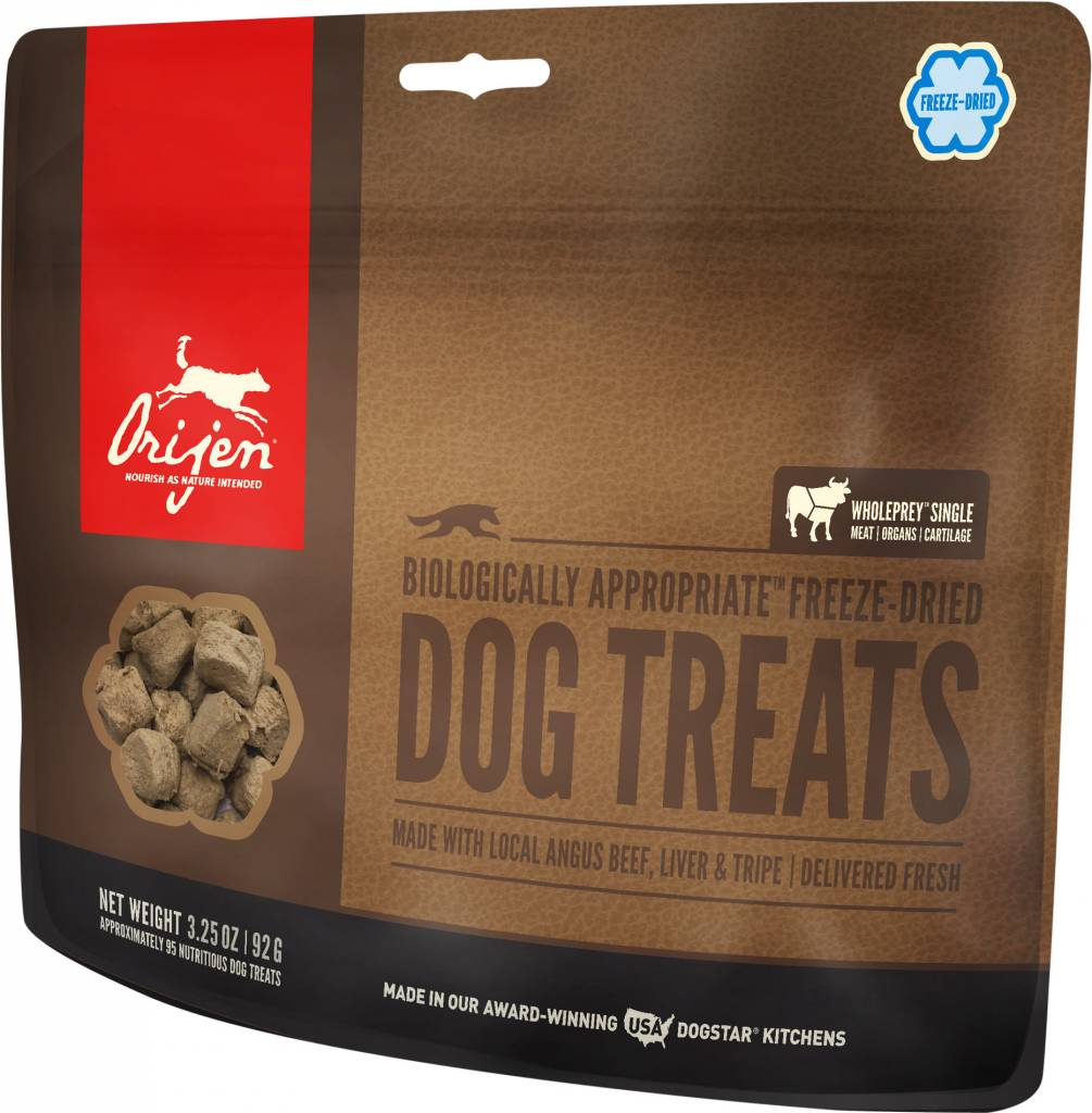 Orijen Orijen Freeze Dried Angus Beef Dog Treats